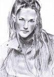 Portrait de la chanteuse Lorie -