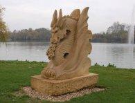 11 - La sculpture seule dans son environnement