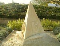 La Percée - Thionville 2004 - Commémoration Moselle River - 1,60 m - Pierre de Jaumont
