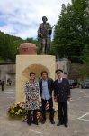 VECKRING LIGNE MAGINOT 2010 - Inauguration Monument en présence de Mme la députée et de M. le sous-préfet