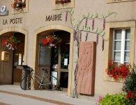 Arbre de glycines  - mairie d'Ay-sur-Moselle 2008 - céramique et cuivre