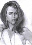 Portrait de l'actrice Jennifer Garner -