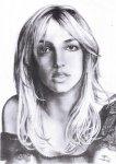Portrait de Britney Spears -